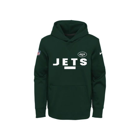 New York Jets Nike NFL Youth Pull Over Therma Hoodie