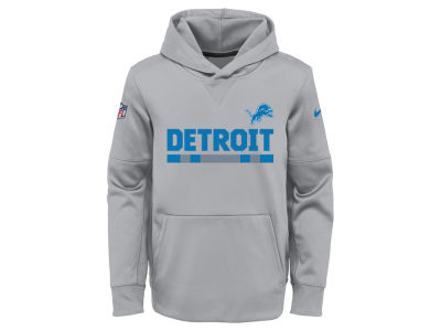 Detroit Lions Nike NFL Youth Pull Over Therma Hoodie