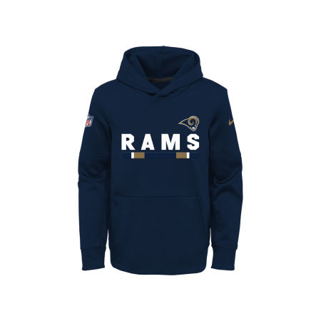 Los Angeles Rams Nike NFL Youth Pull Over Therma Hoodie