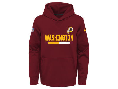 Washington Redskins Nike NFL Youth Pull Over Therma Hoodie