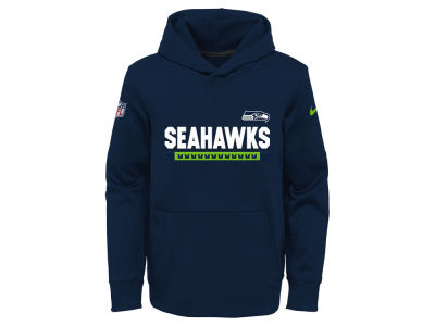 Seattle Seahawks Nike NFL Youth Pull Over Therma Hoodie