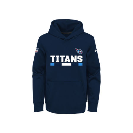 Tennessee Titans Nike NFL Youth Pull Over Therma Hoodie
