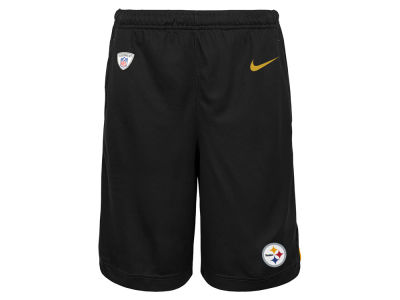 Pittsburgh Steelers Nike NFL Youth Dri Fit Shorts
