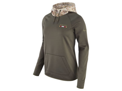 San Francisco 49ers Nike 2017 NFL Women's Salute To Service Hoodie