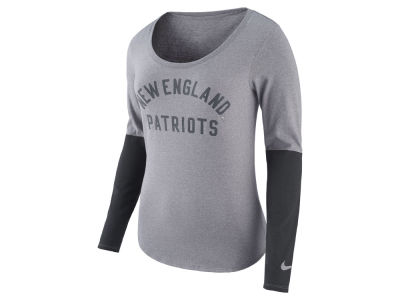 New England Patriots Nike NFL Women's Arch Long Sleeve T-Shirt