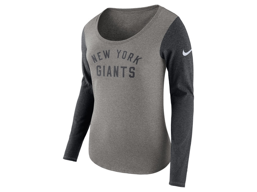 3fd9dc8b New York Giants Nike NFL Women's Arch Long Sleeve T-Shirt