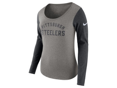Pittsburgh Steelers Nike NFL Women's Arch Long Sleeve T-Shirt