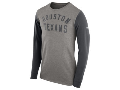 Houston Texans Nike NFL Men's Long Sleeve Heavyweight T-Shirt