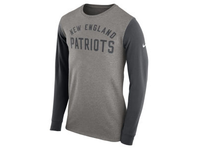 New England Patriots Nike NFL Men's Long Sleeve Heavyweight T-Shirt