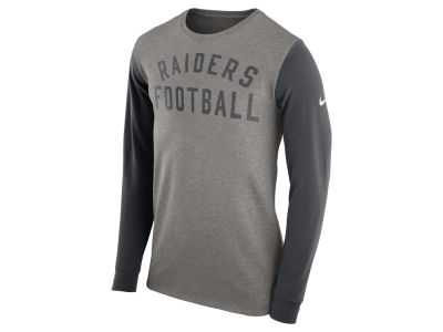 Oakland Raiders Nike NFL Men's Long Sleeve Heavyweight T-Shirt