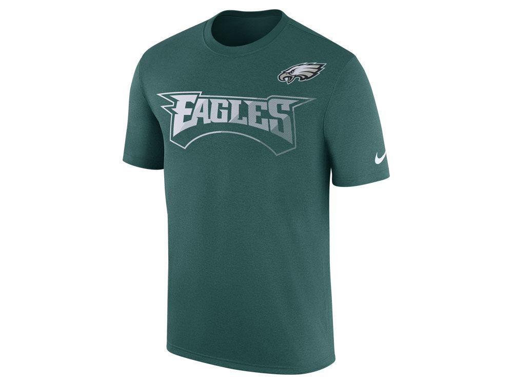 Philadelphia Eagles Nike NFL Men s Legend Sideline Team T-Shirt ... 31a868d4f