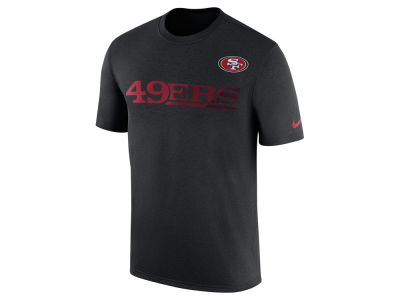 San Francisco 49ers Nike NFL Men's Legend Sideline Team T-Shirt