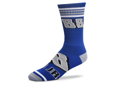 Dale Earnhardt Jr. For Bare Feet Driver 4 Stripe Big Socks