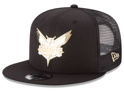 Charlotte Hornets New Era NBA Metal Mesh 9FIFTY Snapback Cap