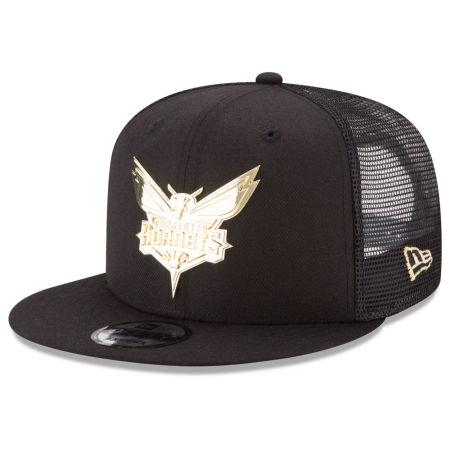 Charlotte Hornets New Era NBA Metal Mesh 9FIFTY Snapback Cap
