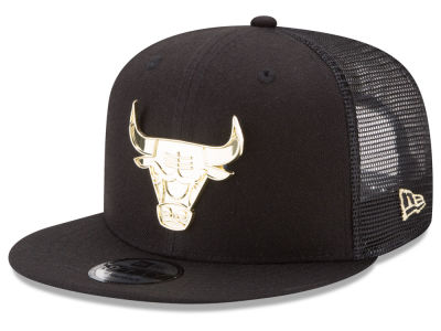 Chicago Bulls New Era NBA Metal Mesh 9FIFTY Snapback Cap