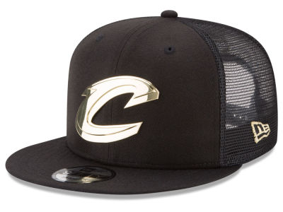 Cleveland Cavaliers New Era NBA Metal Mesh 9FIFTY Snapback Cap