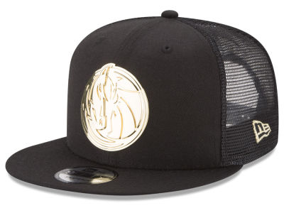 Dallas Mavericks New Era NBA Metal Mesh 9FIFTY Snapback Cap