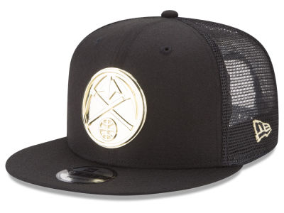 Denver Nuggets New Era NBA Metal Mesh 9FIFTY Snapback Cap