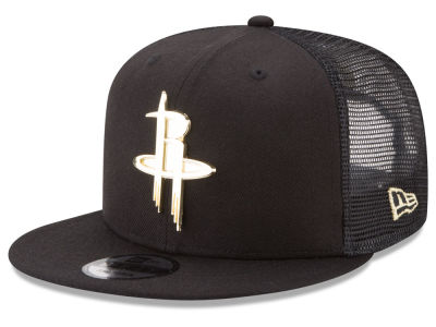Houston Rockets New Era NBA Metal Mesh 9FIFTY Snapback Cap