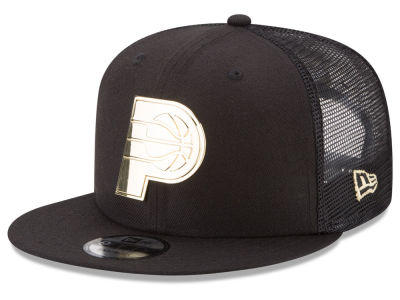 Indiana Pacers New Era NBA Metal Mesh 9FIFTY Snapback Cap