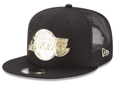 Los Angeles Lakers New Era NBA Metal Mesh 9FIFTY Snapback Cap