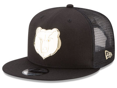 Memphis Grizzlies New Era NBA Metal Mesh 9FIFTY Snapback Cap