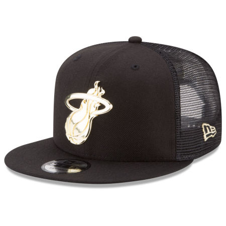 Miami Heat New Era NBA Metal Mesh 9FIFTY Snapback Cap