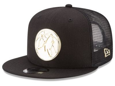 Minnesota Timberwolves New Era NBA Metal Mesh 9FIFTY Snapback Cap