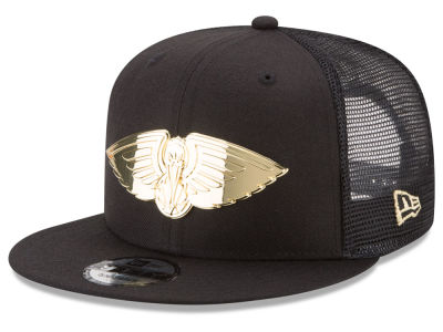 New Orleans Pelicans New Era NBA Metal Mesh 9FIFTY Snapback Cap
