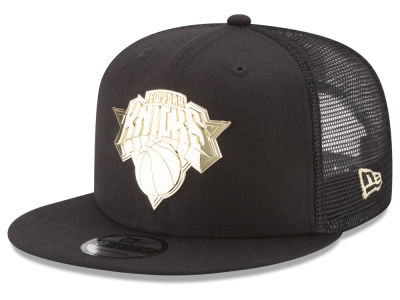 New York Knicks New Era NBA Metal Mesh 9FIFTY Snapback Cap
