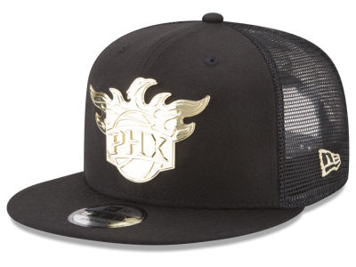Phoenix Suns New Era NBA Metal Mesh 9FIFTY Snapback Cap