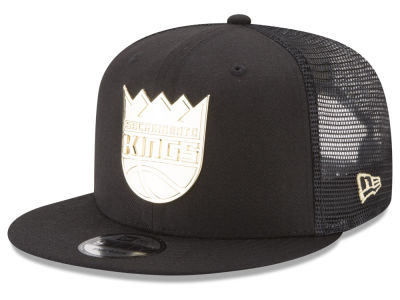 Sacramento Kings New Era NBA Metal Mesh 9FIFTY Snapback Cap