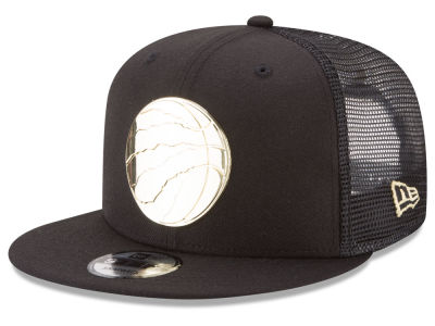 Toronto Raptors New Era NBA Metal Mesh 9FIFTY Snapback Cap