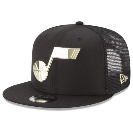 Utah Jazz New Era NBA Metal Mesh 9FIFTY Snapback Cap