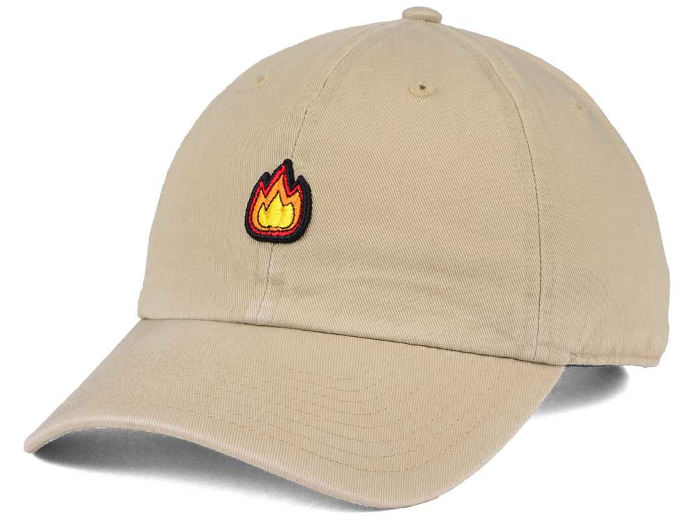 Happy Cappy Flame Dad Hat  5a76d5a39a68
