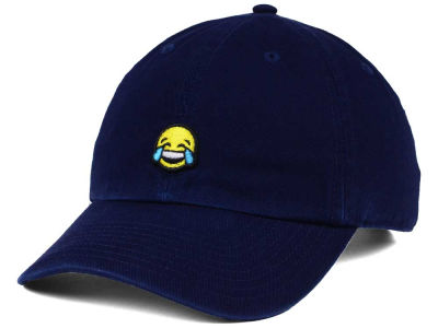 Happy Cappy Crying Face Dad Hat