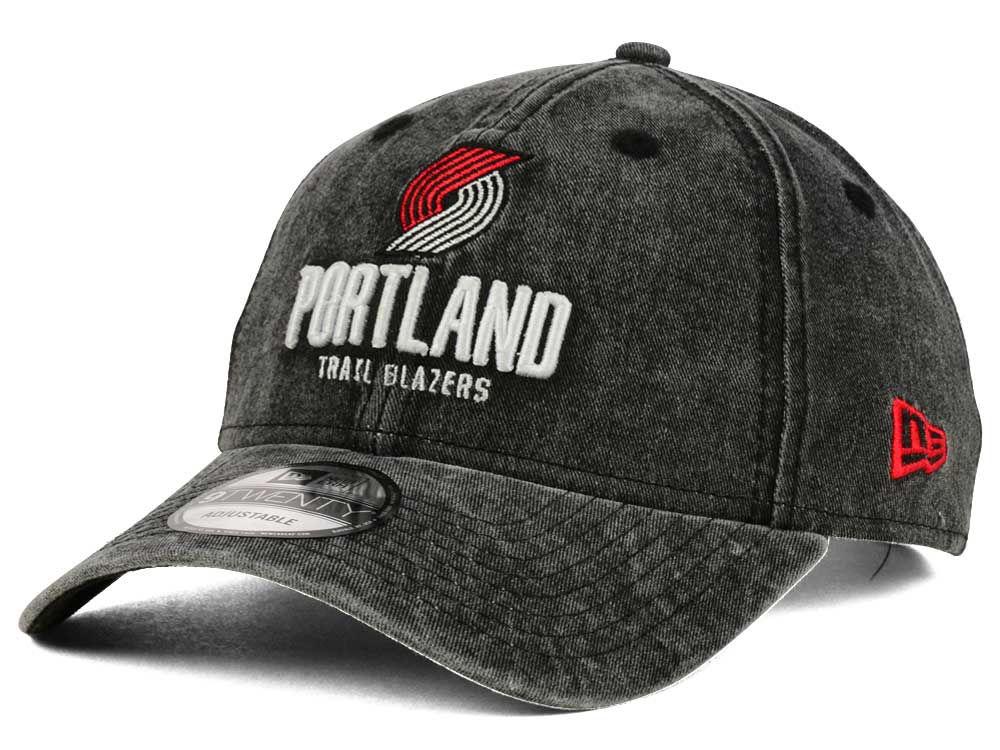 4f4fd528f58 Portland Trail Blazers New Era NBA Italian Wash 9TWENTY Dad Hat ...