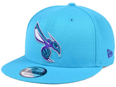 Charlotte Hornets New Era NBA Solid Alternate 9FIFTY Snapback Cap