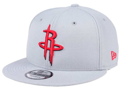 Houston Rockets New Era NBA Solid Alternate 9FIFTY Snapback Cap
