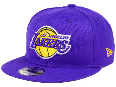 Los Angeles Lakers New Era NBA Solid Alternate 9FIFTY Snapback Cap
