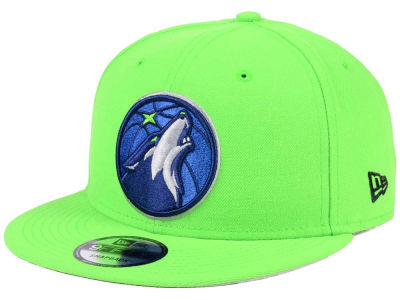 Minnesota Timberwolves New Era NBA Solid Alternate 9FIFTY Snapback Cap