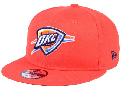 Oklahoma City Thunder New Era NBA Solid Alternate 9FIFTY Snapback Cap