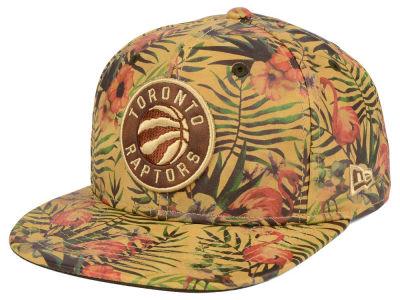 Toronto Raptors New Era NBA Smoove Leather 9FIFTY Snapback Cap