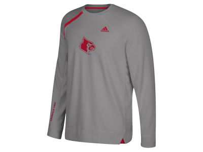 Louisville Cardinals adidas NCAA Men's Basketball Long Sleeve Shooting Shirt