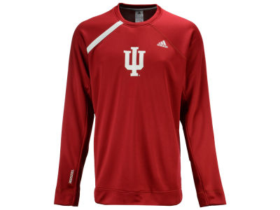Indiana Hoosiers adidas NCAA Men's Basketball Long Sleeve Shooting Shirt