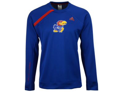 Kansas Jayhawks adidas NCAA Men's Basketball Long Sleeve Shooting Shirt