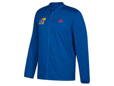 Kansas Jayhawks adidas NCAA Men's Basketball Warm Up Jacket