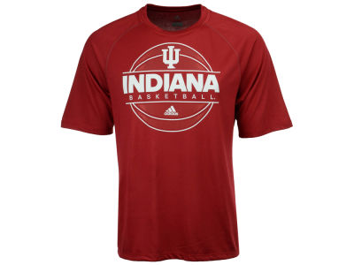 Indiana Hoosiers adidas NCAA Men's On Court Practice T-Shirt