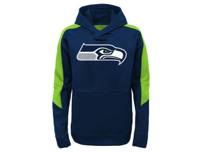 Seattle Seahawks Outerstuff NFL Kids Hyperlink Hoodie